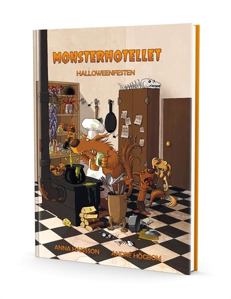 Monsterhotellet - Halloweenfesten av Anna Hansson