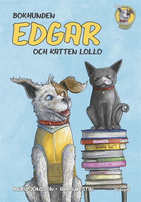Bildresultat för bokhunden edgar och katten lollo