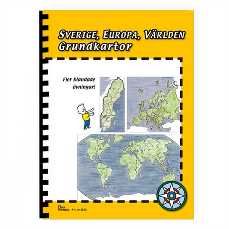 Karta Varlden Europa.Geografi Samhallskunskap Varlden