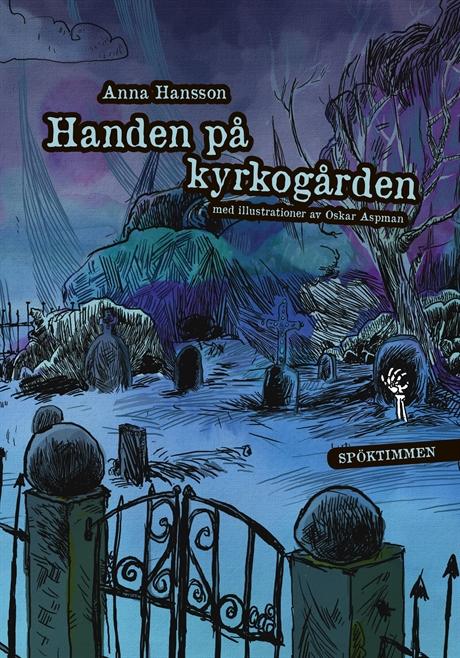 Handen på kyrkogården av Anna Hansson