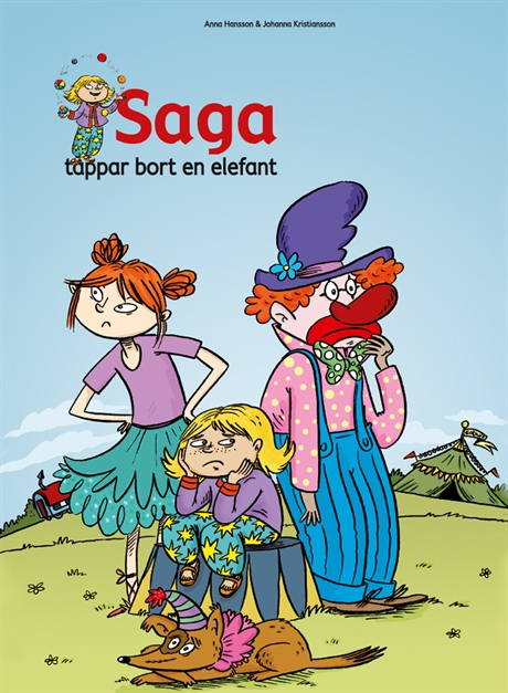 Saga tappar bort en elefant av Anna Hansson